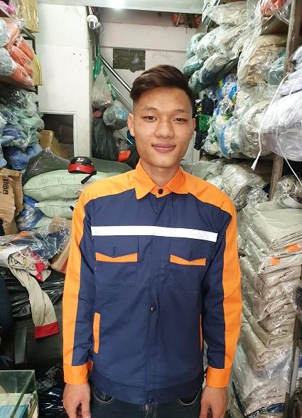 Bảo An Quần áo bảo hộ BA03 BA03