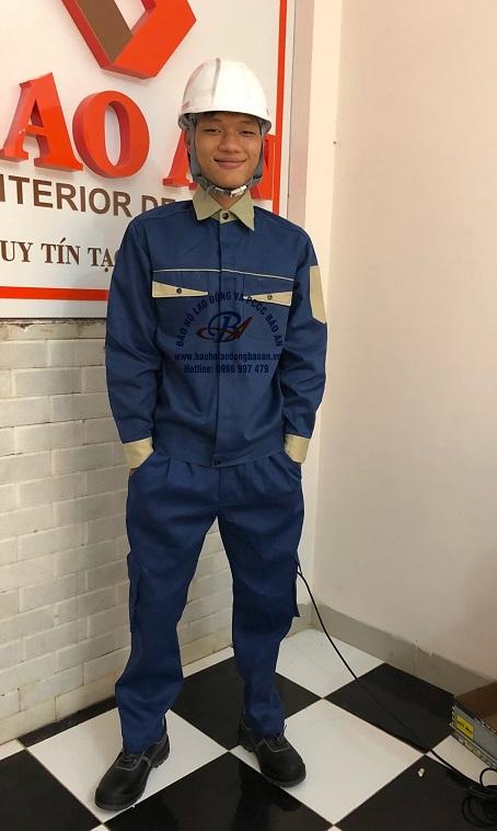 BẢO AN Quần áo công nhân 011 BA 011