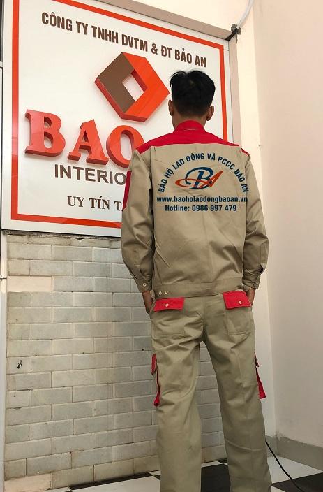 Quần áo công nhân 01 BA 01