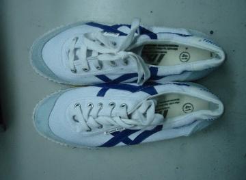 Giày ba ta Thượng Đình trắng đế kếp BHLD30